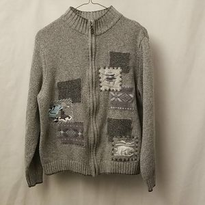 Northern Reflection Womens Size Large Sweater